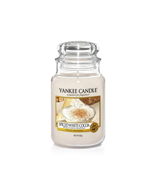 Yankee Candle ароматна свещ SPICED WHITE COCOA
